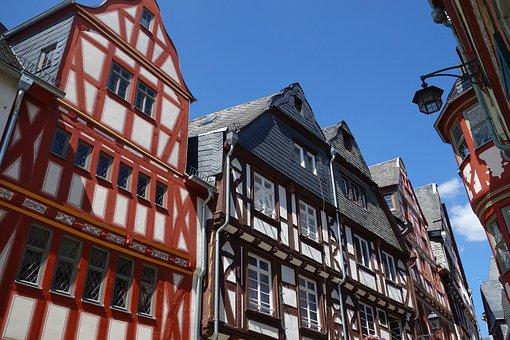 Limburg Lahn, Limburg, Old Town, Architecture, Lahn