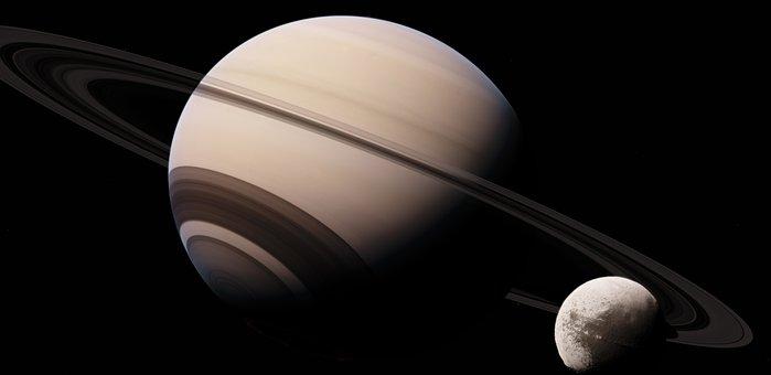 Iapetus, Saturn, Astronomy, Satellite, Planet, Space