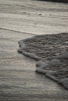 Poland, Balt, Sea, Beach, Sand, Surf