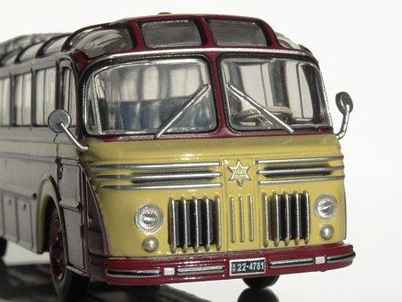 Henschel Hs 100 N, 1953, Bus, Model Car, Car Model