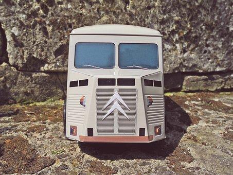 Citroen, Model, Miniature, Pickup Truck, Car