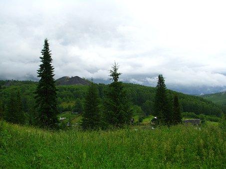 Clouds, Cumulus, Sky, Day, Nature, Landscape, Summer