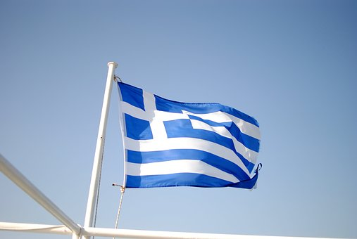 Flag, Greece, Country, National, Symbol, Greek, Europe