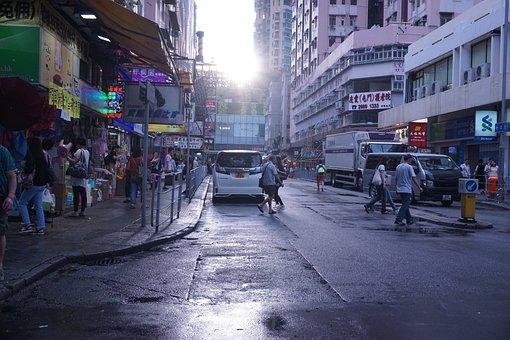 City, Hong Kong, Tuen Mun, Evening
