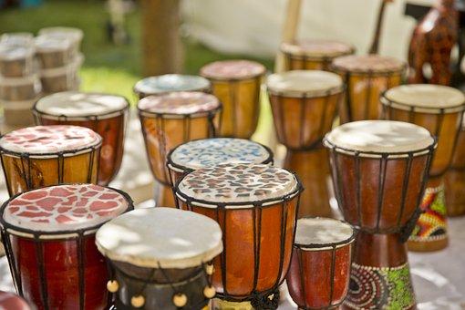 African, Drums, Jazz, Festival, Columbus, Ohio