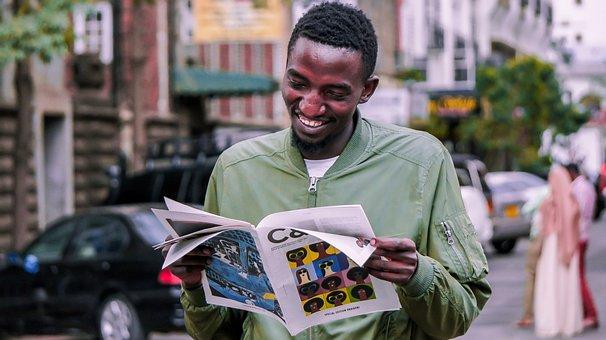 Man, Black, African, Africa, Kenyan, Kenya, Black Man