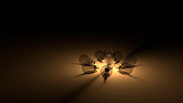 Bulb, Light Bulbs, Idea, Light, Communication, Circle
