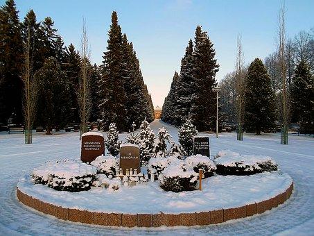 Cemetery, Memorial, Past, Generations