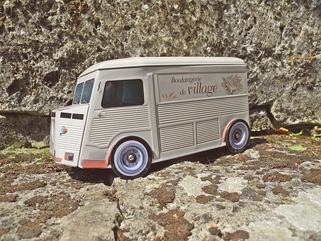 Citroen, Model, Miniature, Vehicle, Pickup Truck, Car