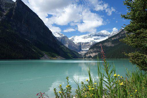 Lake Louise, Canada, Banff, Lake, Mountains, Nature