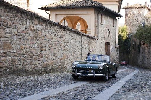 Padenghe, Lake D Igarda, Auto, Vintage Car, Vintage