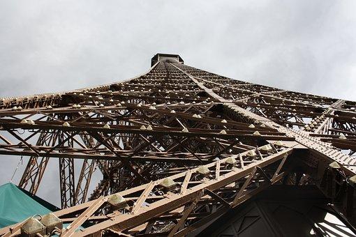 Eiffel Tower, Paris, France, City, Places Of Interest