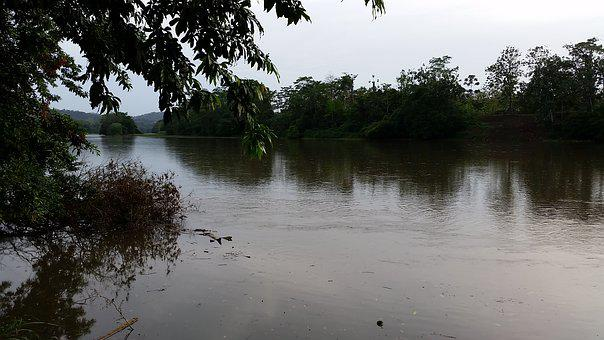 Costa Rica, San Carlos, River