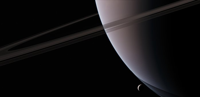 Encelade, Saturn, Satellite, Astronomy, Planet, Space