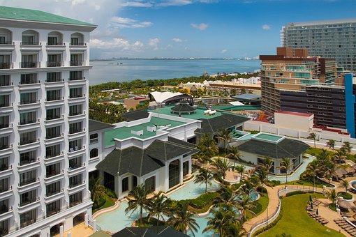 Holidays, The Hotel Beach, Pool, Sea, Landscape