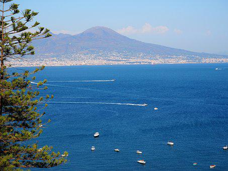 Ship, Coast, Italy, Island, Holiday, Cliff, Tourism