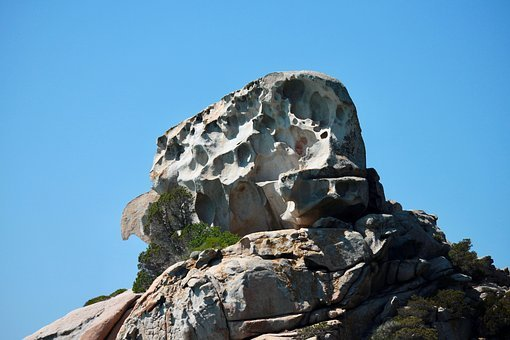 Rocks, Sardinia, The Island Of Spargi, Granite, Nature