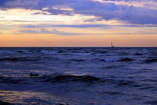 Sailing Boat, Baltic Sea, Sea, Grömitz, Water
