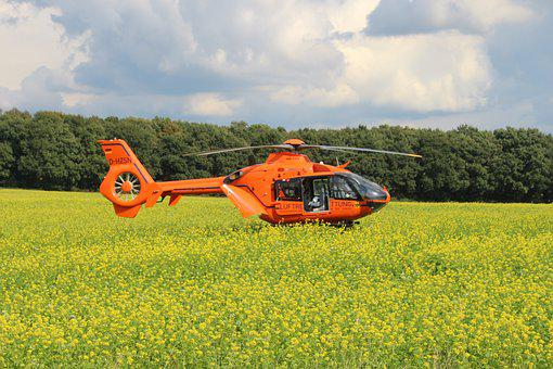 Accident, Air Rescue, Helicopter, Rescue Helicopter
