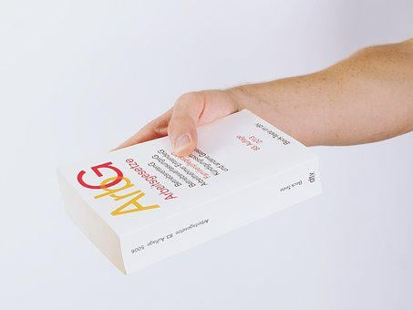 Book, Books, Read, Hand, Isolated, Book Pages