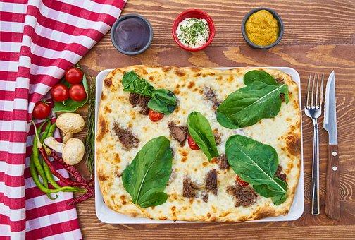 Pizza, Breakfast, Vegetable, Food, Healthy Eating