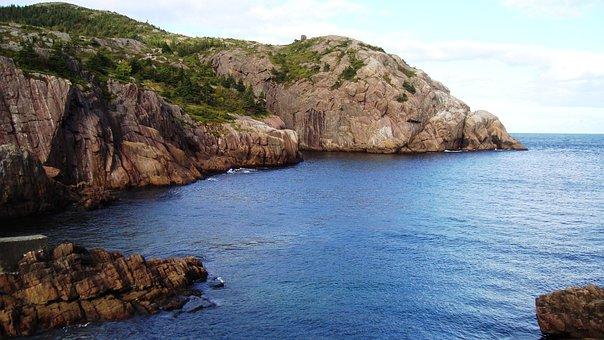 Quidi Vidi, Newfoundland, Gut, Narrow, Channel