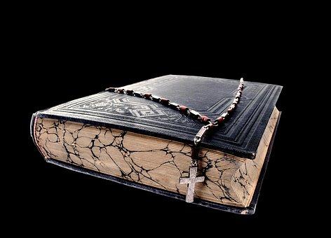 Cross, Christian, Christianity, Book, Close, Psalm