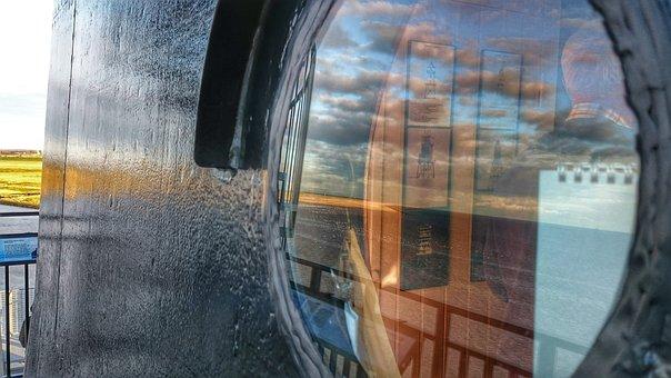 Lighthouse, Watts, North Sea, Coast, Tower, Sea