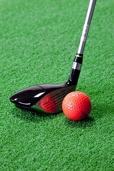 Golf, Air Display Provides, Driver, Red Room, Exercise