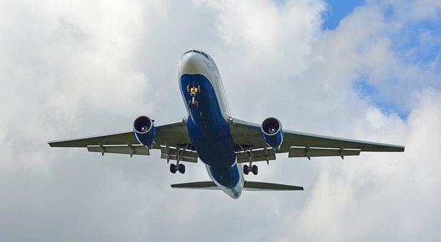 Jet, Aircraft, Start, Take Off, Fly, Landing