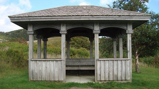 Gazebo, Relaxation, Pavilion, Park, Shelter, Landscape