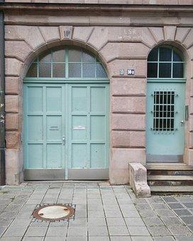Architecture, Archway, War, Intact, Nuremberg