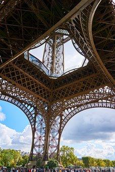 France, Paris, Eiffel Tower, World's Fair, Architecture