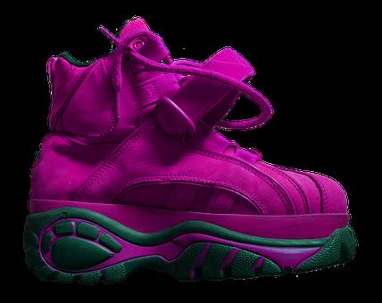 Shoe, Platform Shoe, Sole, High, Buffalo, Pink