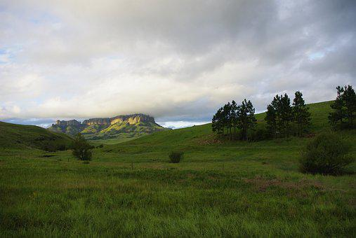 South Africa, Free State, Platberg Mountain