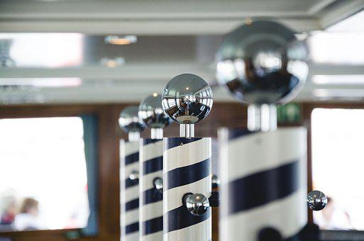 Knob, Handrail, Ship, The Interior Of The, Metal