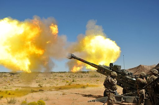 Marines, M777 Howitzer, Artillery, 155mm, Howitzer