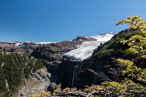 South America, Argentina, Monte Tronador, Mountains