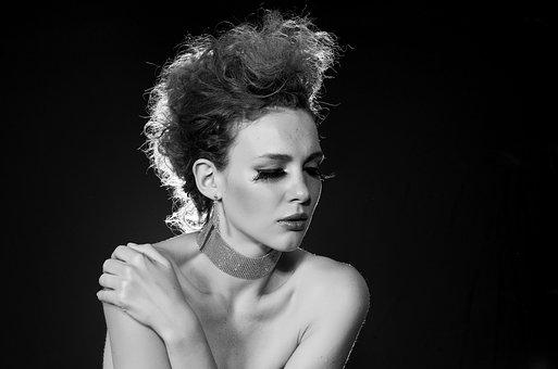 Model, Beautiful, Portrait, The Young Woman, Beauty