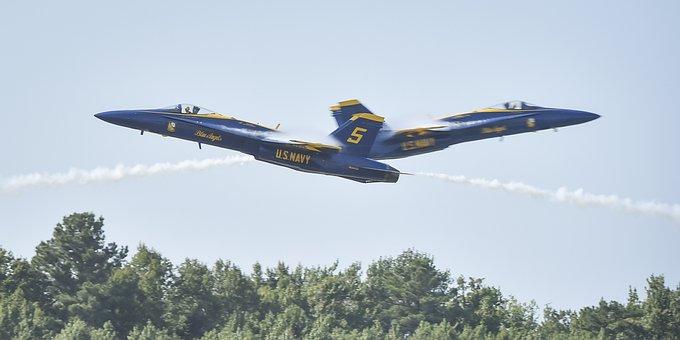 Blue Angels, Flight, Demo Team, Flight Demonstration