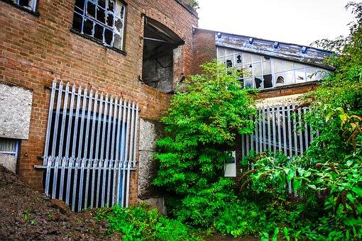 Stewartby, Brickworks, London, Brick, Company, Derelict