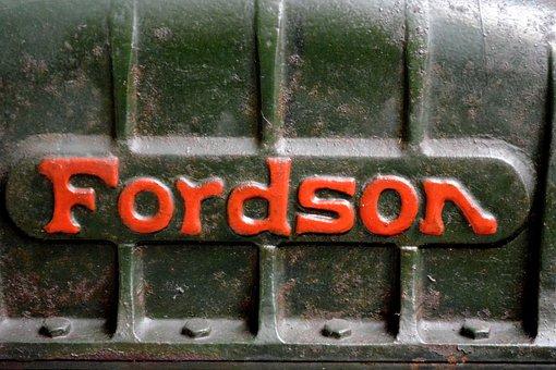Tractor, Engine, Machine, Fordson, Machinery