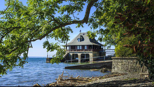 Haus Am See, Lake Constance, On The Water