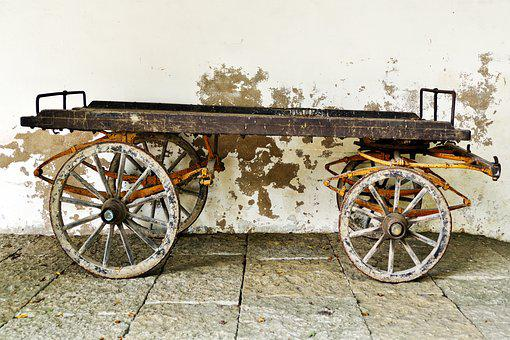Horse Carts, Cart, Horse Drawn Carriage, Transport