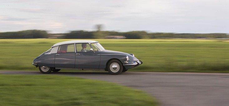Citroen Id, 1967, Vintage Car, Gris Ciel Lourd, Lhs