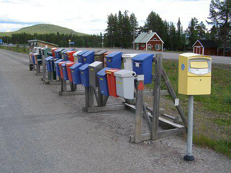 Mailbox, Letter Boxes, Post, Sweden, Screen Background