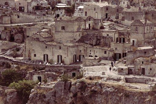 Matera, Sassi, Italy, Unesco, Basilicata, Hdr