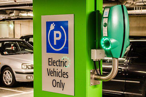 Electric, Parking, Vehicle, Transportation, Automobile