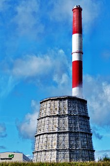Cooling Tower, Chimney, Power Plant, Energy, Snapshot