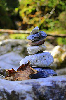 Stones, Relaxation, Nature, Meditation, Rest, Recovery
